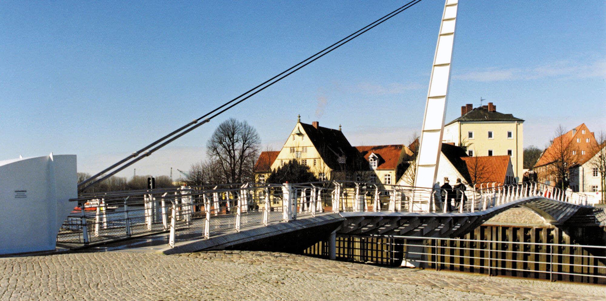 Klappbrücke, Vegesack