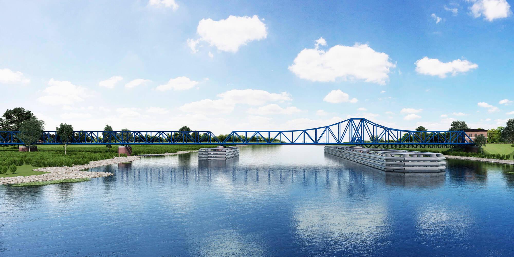 Neuplanung Friesenbrücke