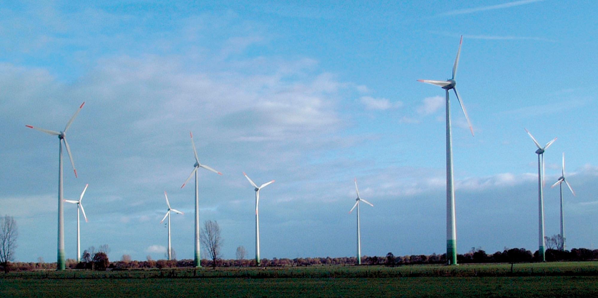 Windpark Timmeler Kampen