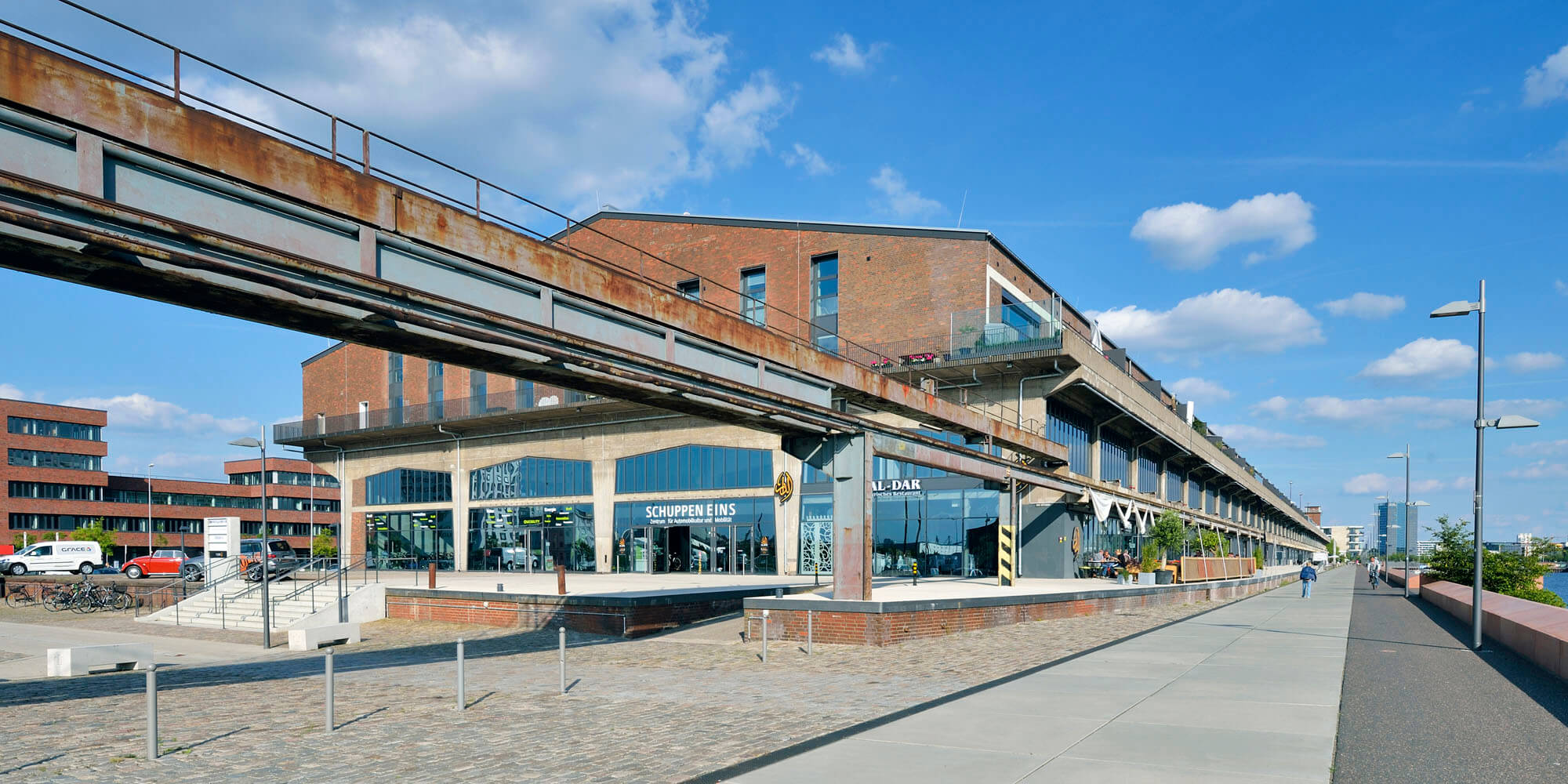 Schuppen Eins: Umwidmung und Revitalisierung eines maritimen Kulturdenkmals