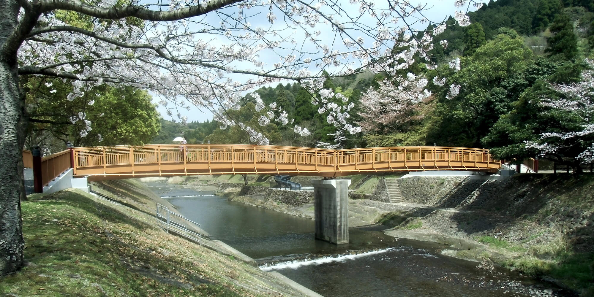 Fußgängerbrücken, Japan