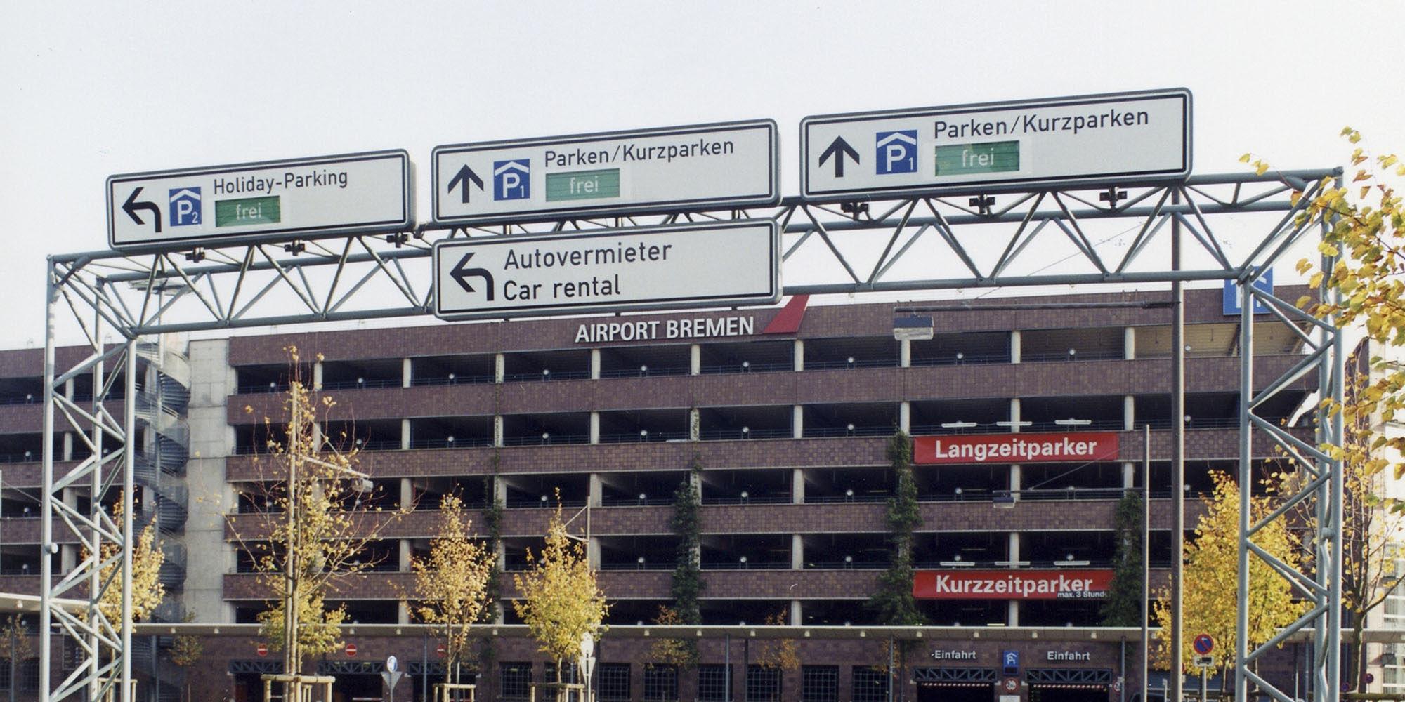 Brücken fürs Verkehrsleitsystem