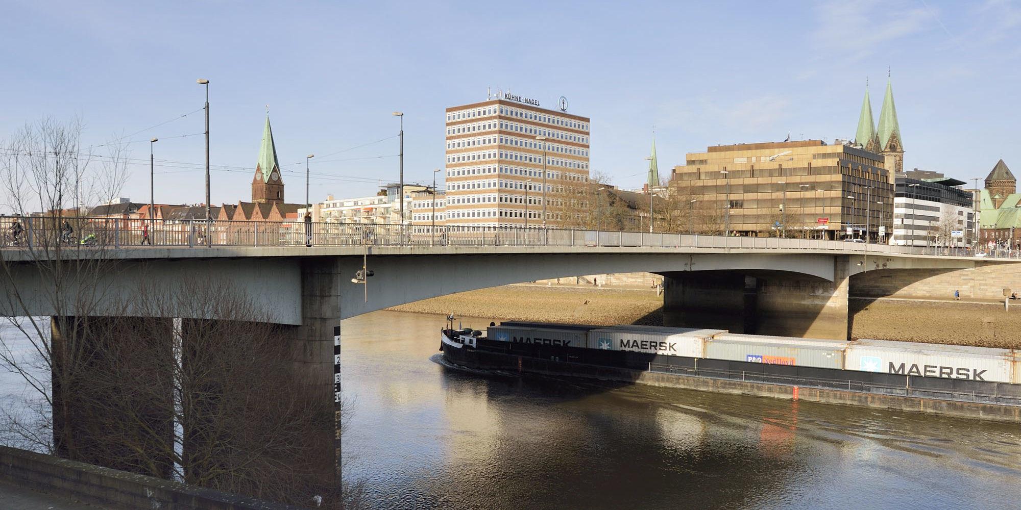 Wilhelm-Kaisen-Brücke, Bremen