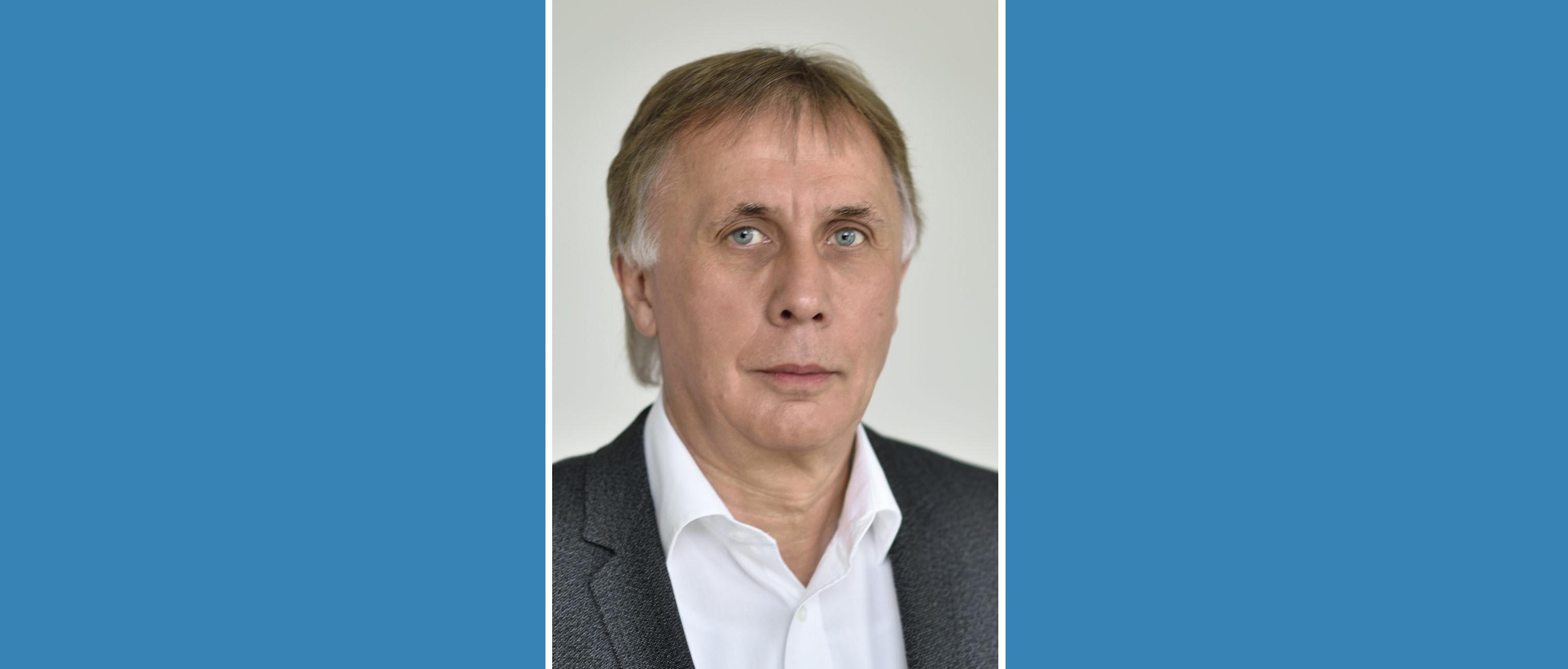 Dr.-Ing. Jens Ritter ist Prüfer für Eisenbahnbau
