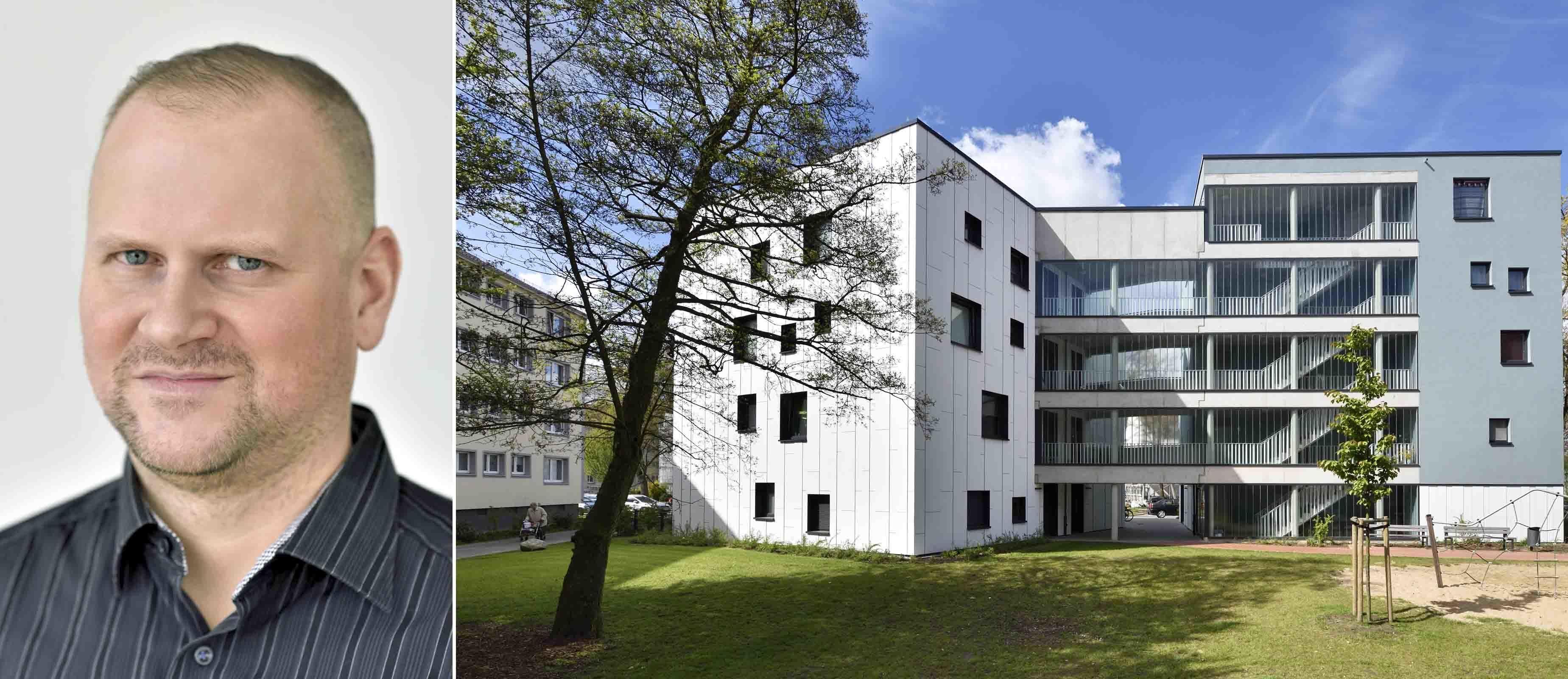 Jens Heinemann M.Sc. ist pb+ Sachverständiger für energiesparendes Bauen