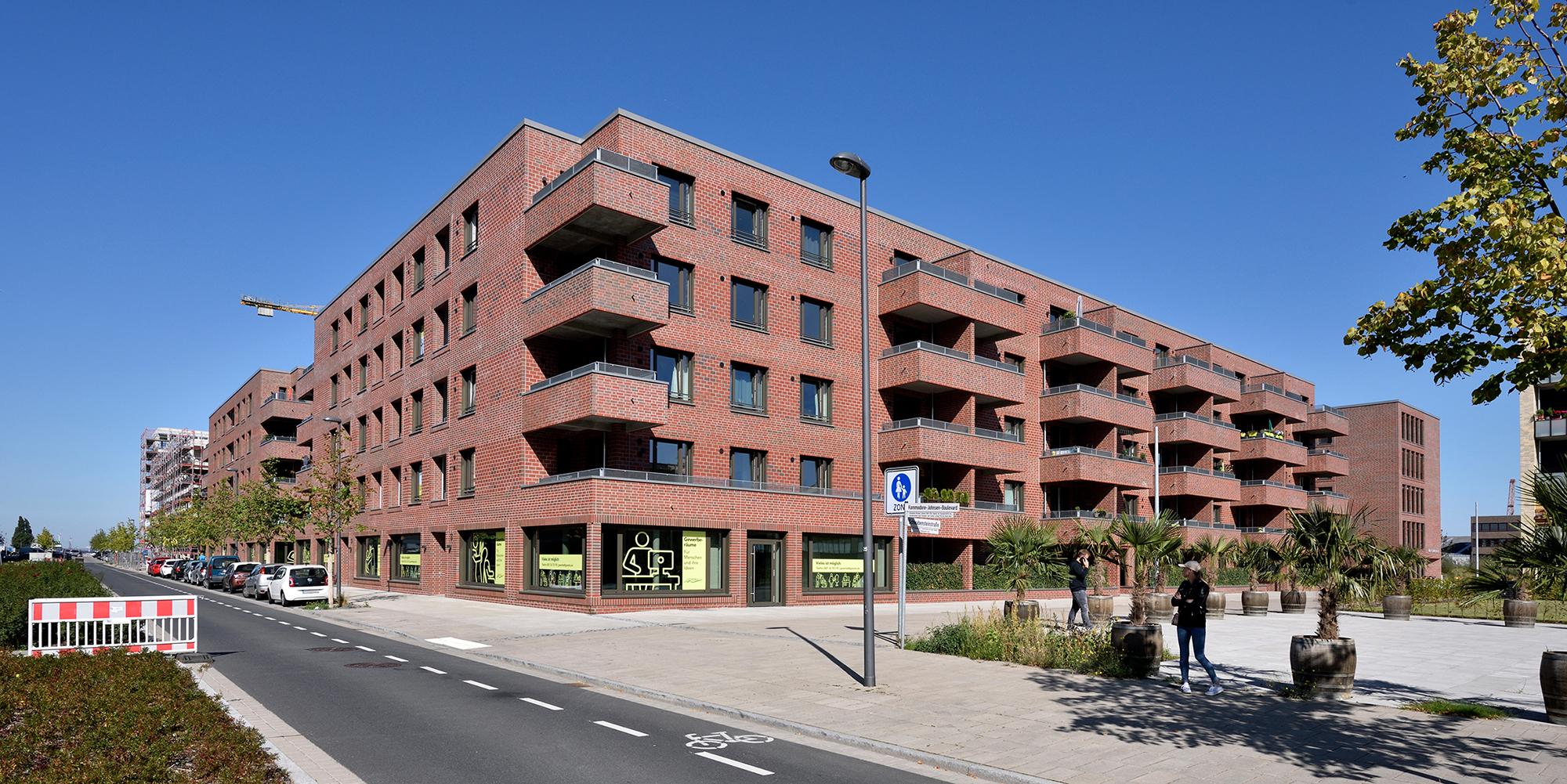 """Bremen-Überseestadt: Wohnen und Arbeiten in den """"Überseegärten"""""""