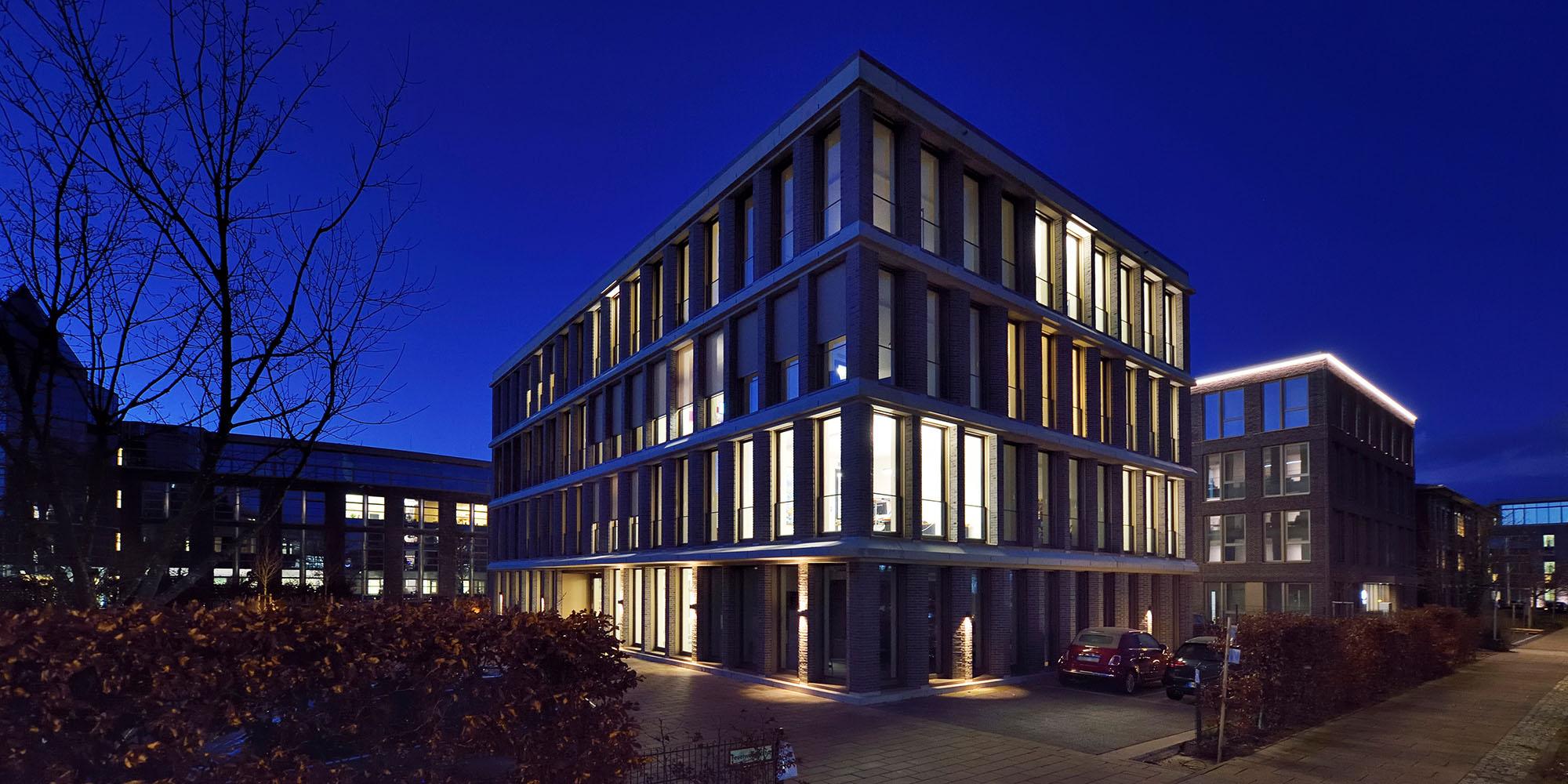Büroneubau: Variable Fassaden- und Raumgestaltung